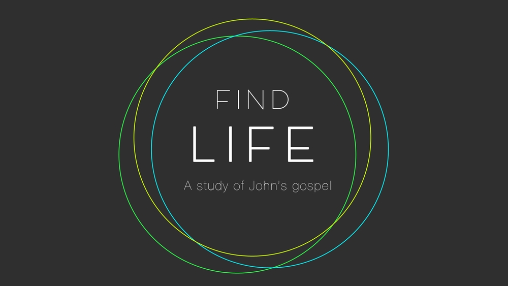 Find Life: A Study of John's Gospel
