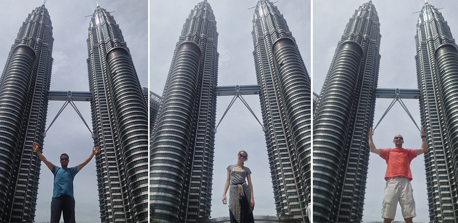 PETRONAS TOWERS, THE TALLEST TWIN TOWERS IN THE WORLD.