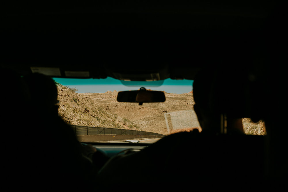 Headed to Valley of Fire