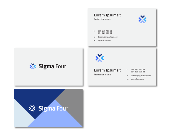 Sigma Four Visitenkarten