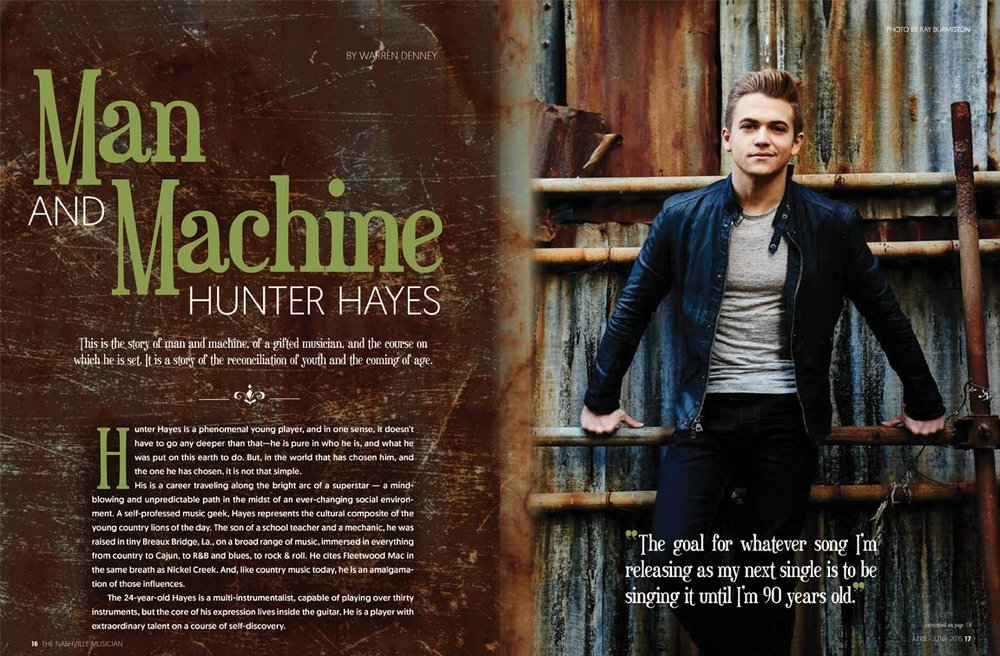 Hunter Hayes | Lisa Dunn Design