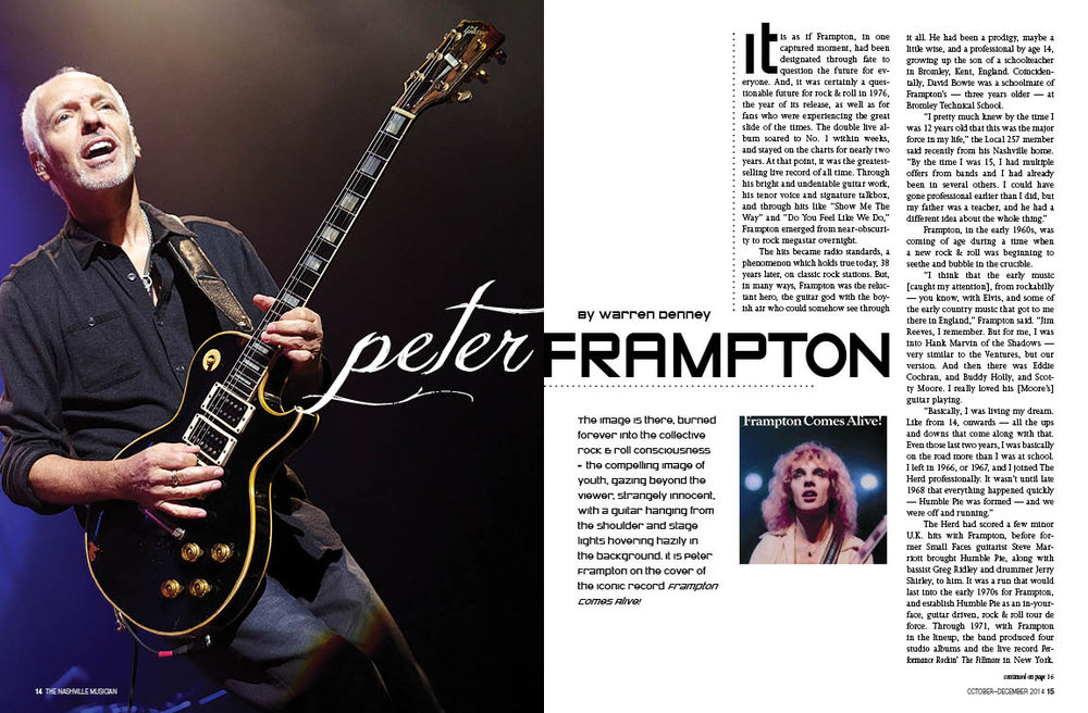 Peter Frampton | Lisa Dunn Design