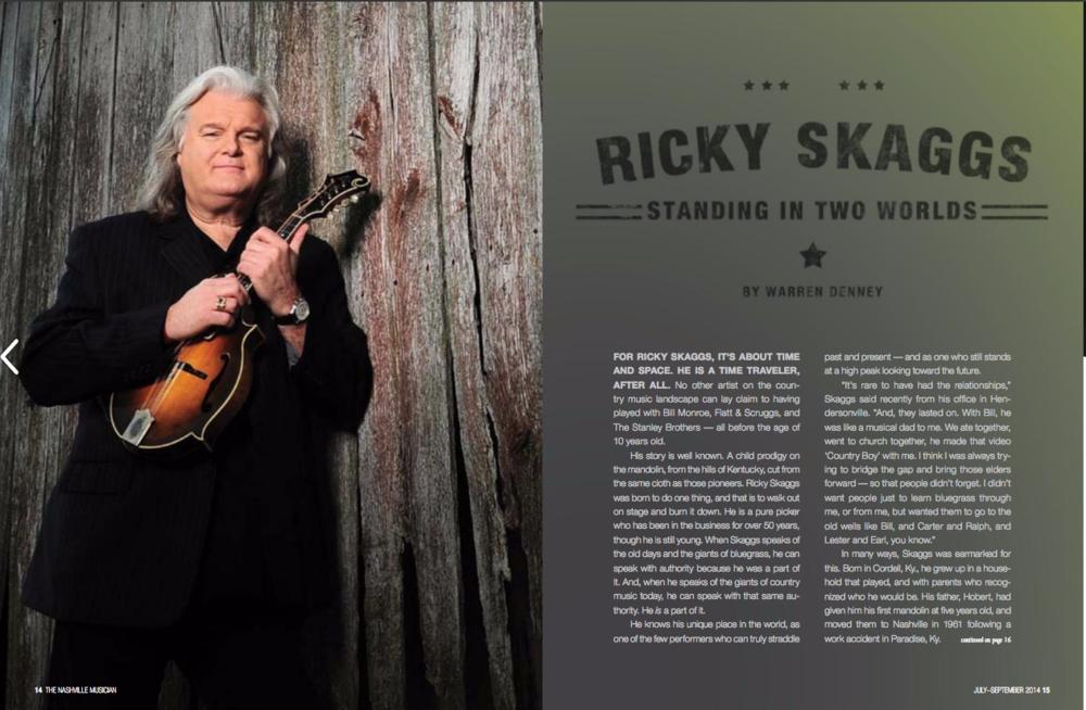 Ricky Skaggs | Lisa Dunn Design