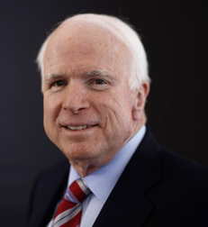 John McCain, Aug. 1936-Aug. 2108