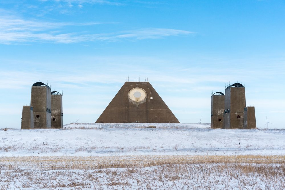 Sim Chi Yin. An anti-ballistic missile defense radar facility, North Dakota, November 2017.