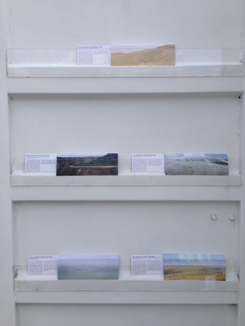 Series of 5 collectors' postcards.  Photograph by Nicolas Tanner.