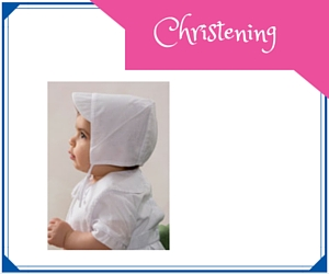 Buttons and Bows, Christening Outfits