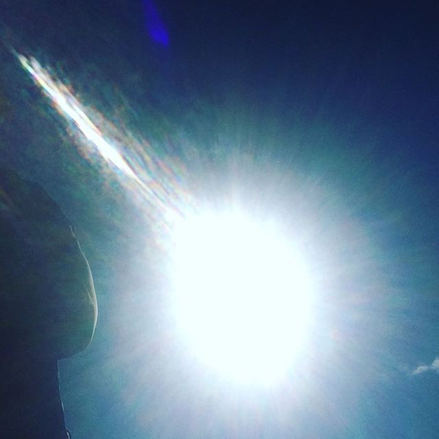 It's not THAT bright. #solareclipse #yeg