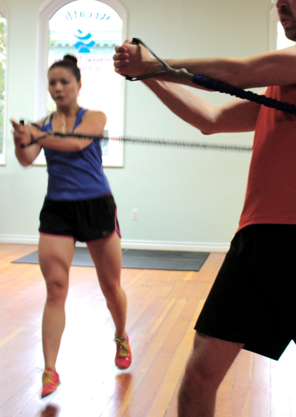 Partner Personal Training at Breathe Fitness on Whyte in YEG