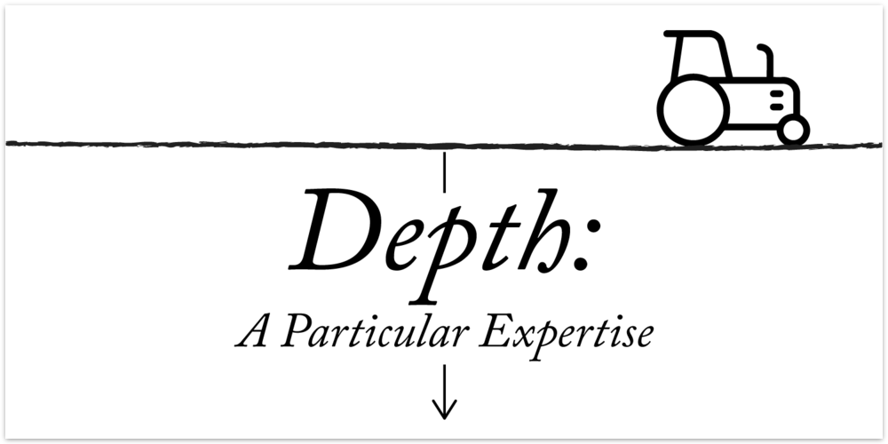 Depth: A Particular Expertise