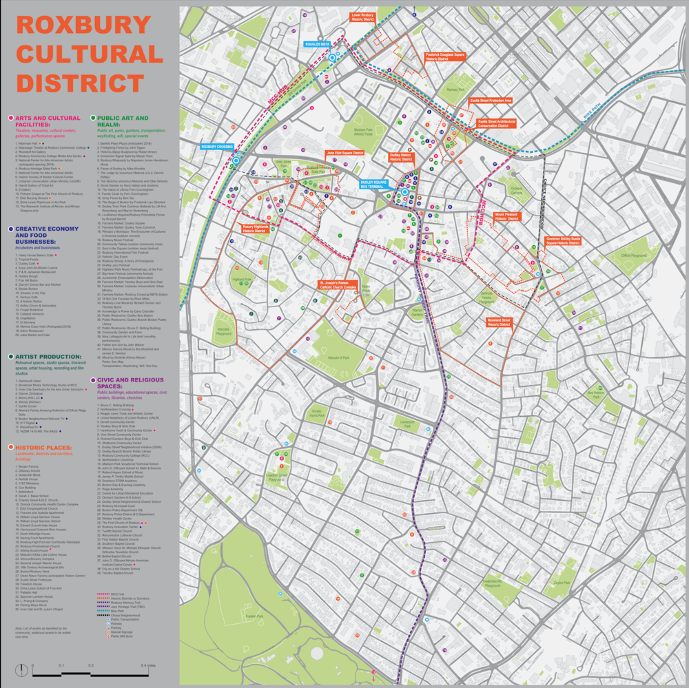 Maps Roxbury Cultural District - Cultural-map-of-the-us