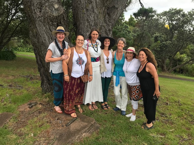 """Joyful Living Women's Retreat"" on Waiheke Island, New Zealand 2019"
