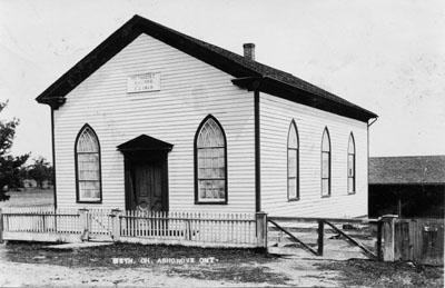 Ashgrove New Connexion Methodist Church, c.1912
