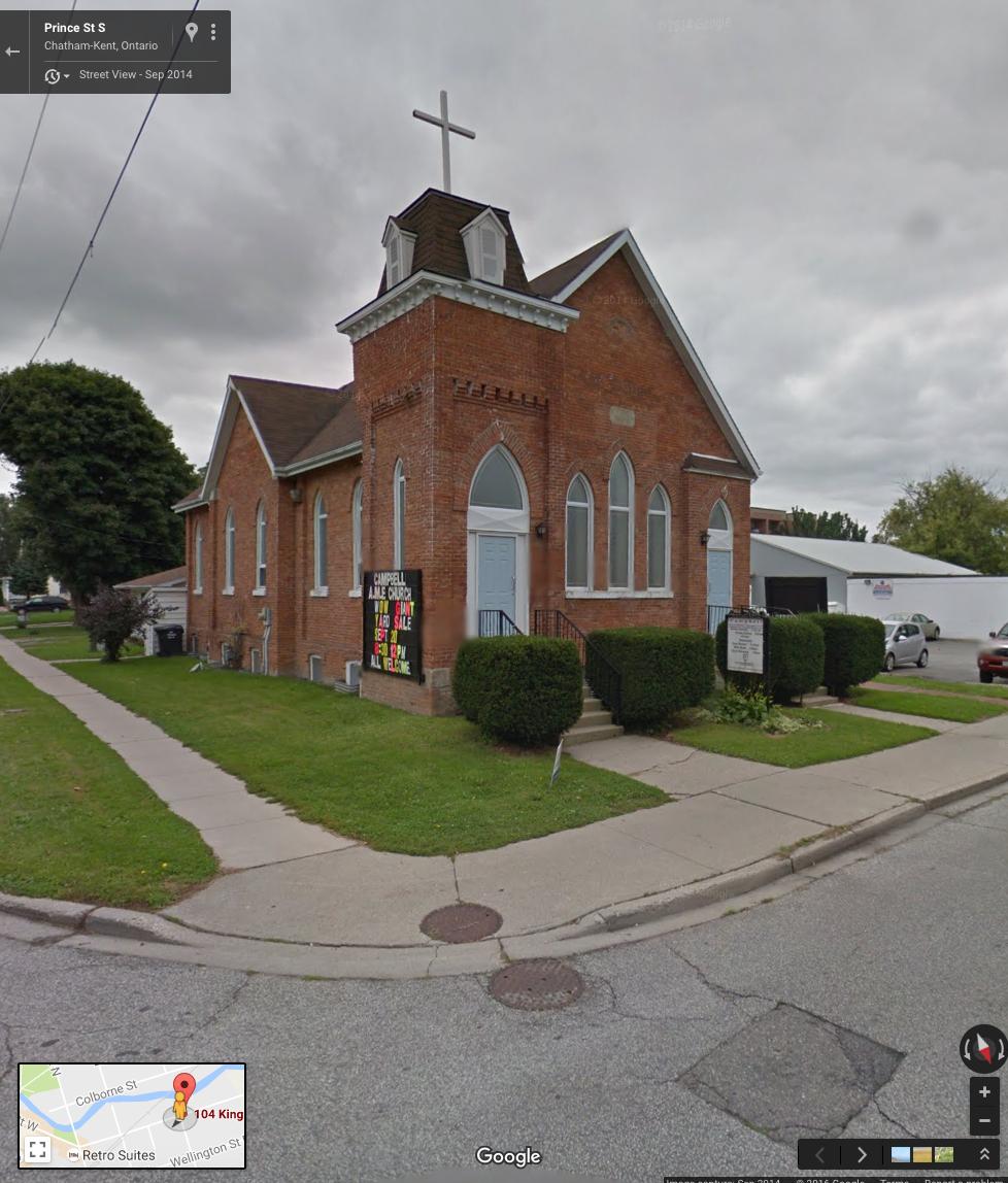 Chatham A.M.E. Church, c.2014