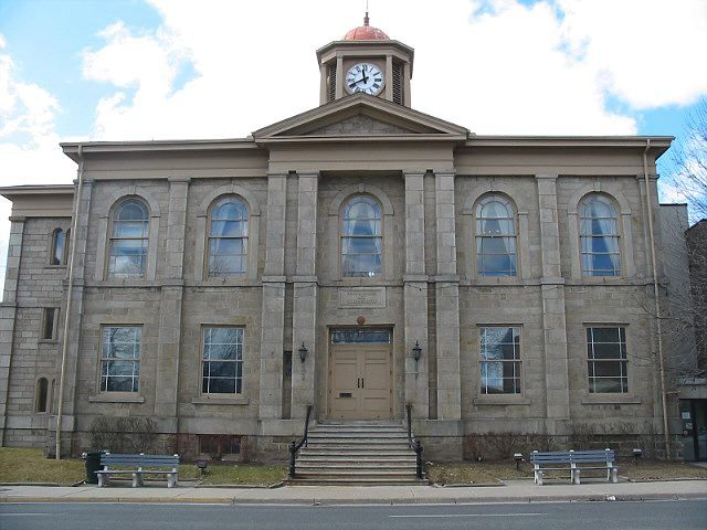 Dundas Town Hall - Front View