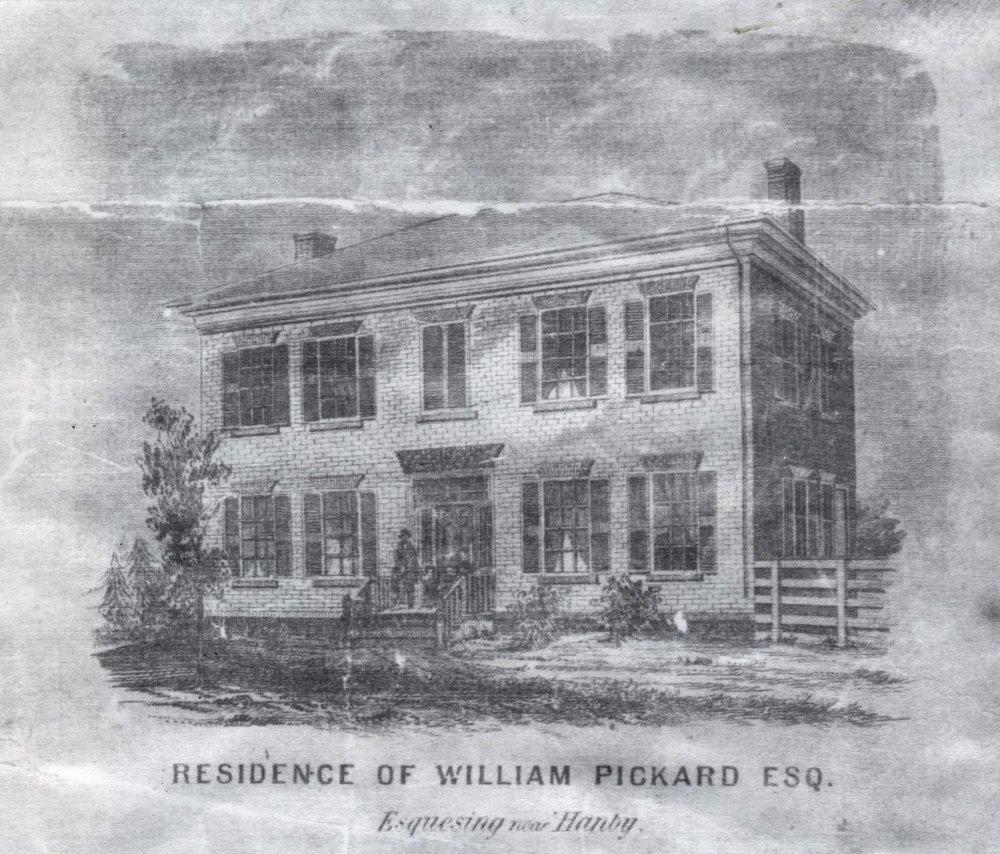 Residence of Rev. William Pickard, Esq.
