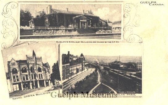 Guelph Opera House - postcard