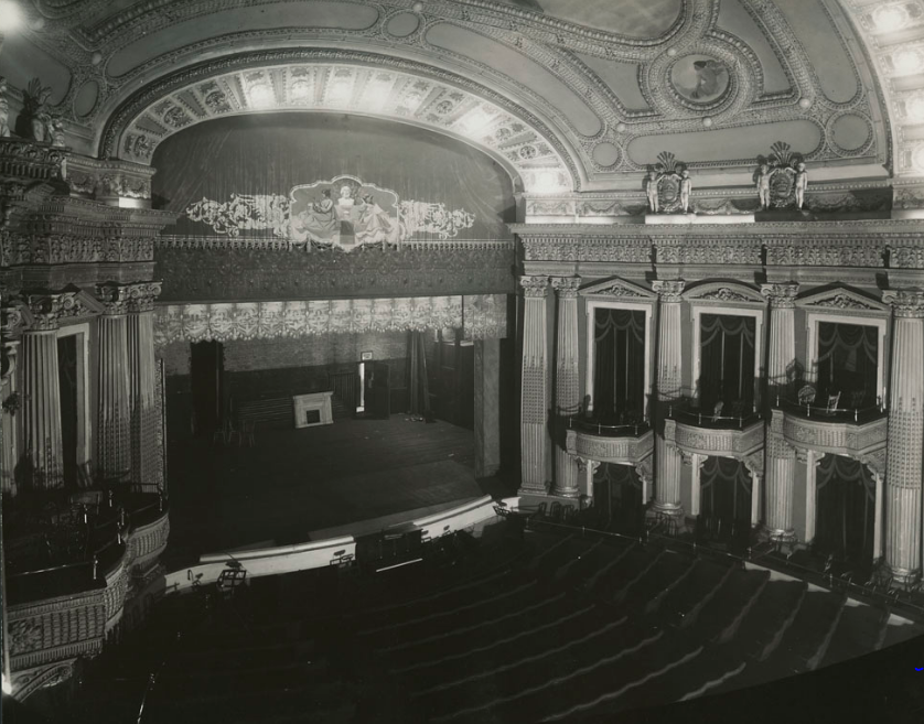 Russell Theatre - interior