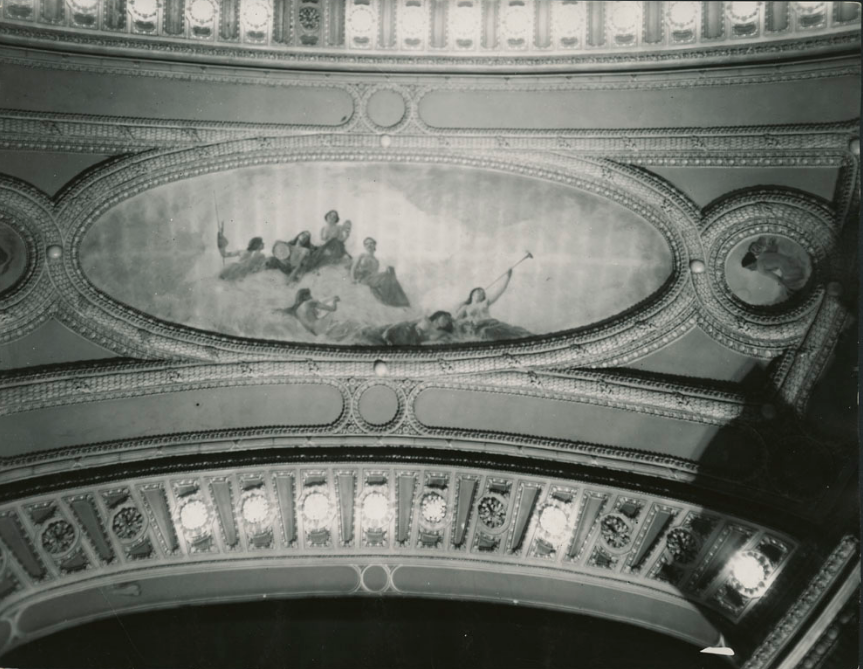 Russell Theatre - ceiling