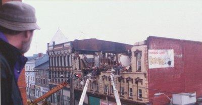 Grand Opera House Demolition