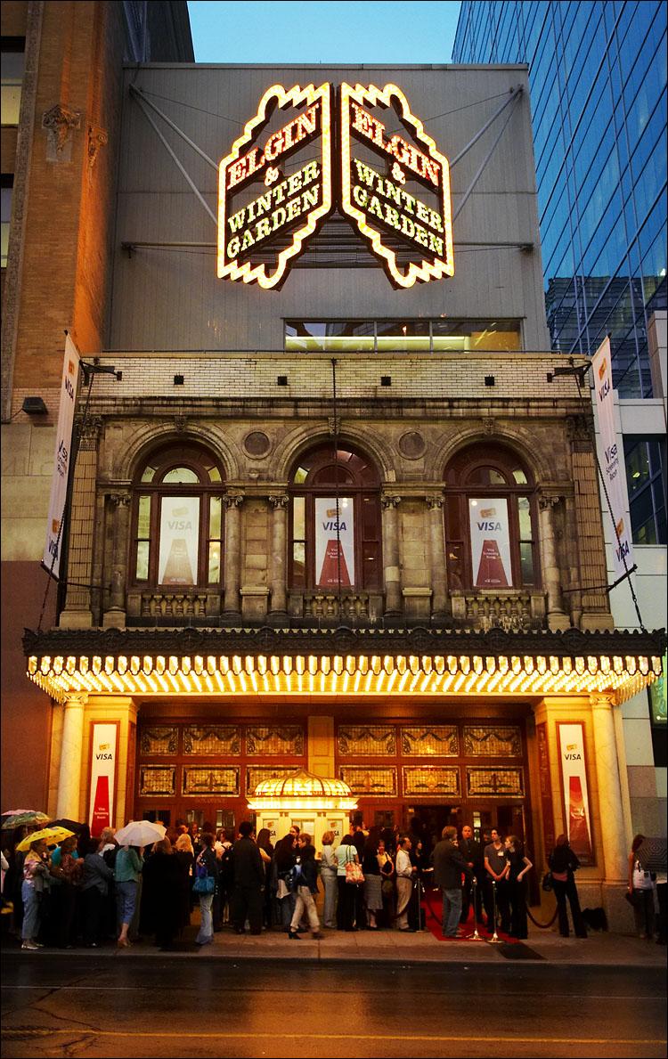 Elgin & Winter Garden Theatre - exterior