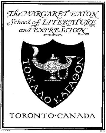 Margaret Eaton School - crest