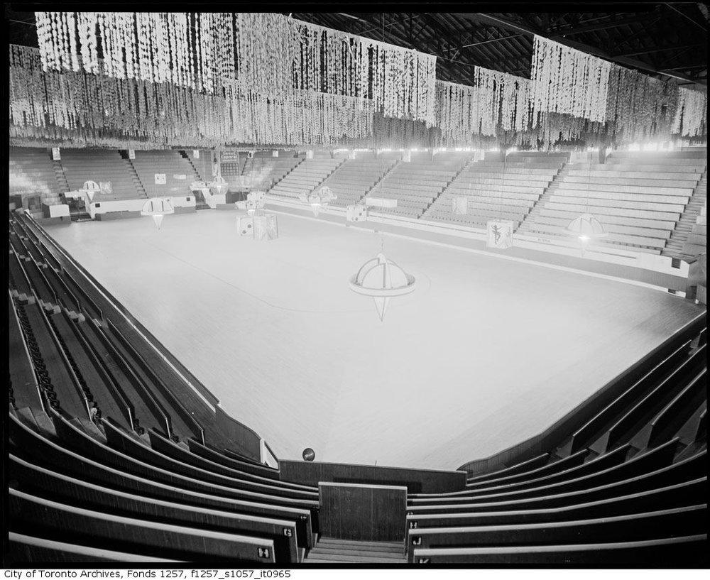 Mutual Street Arena - interior