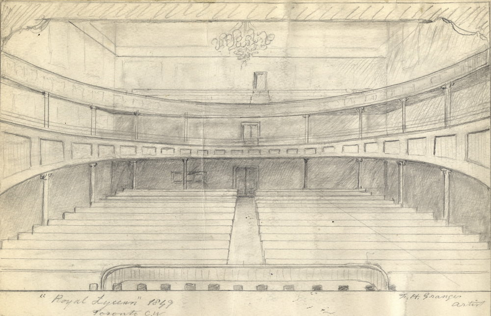 Royal Lyceum Theatre - interior