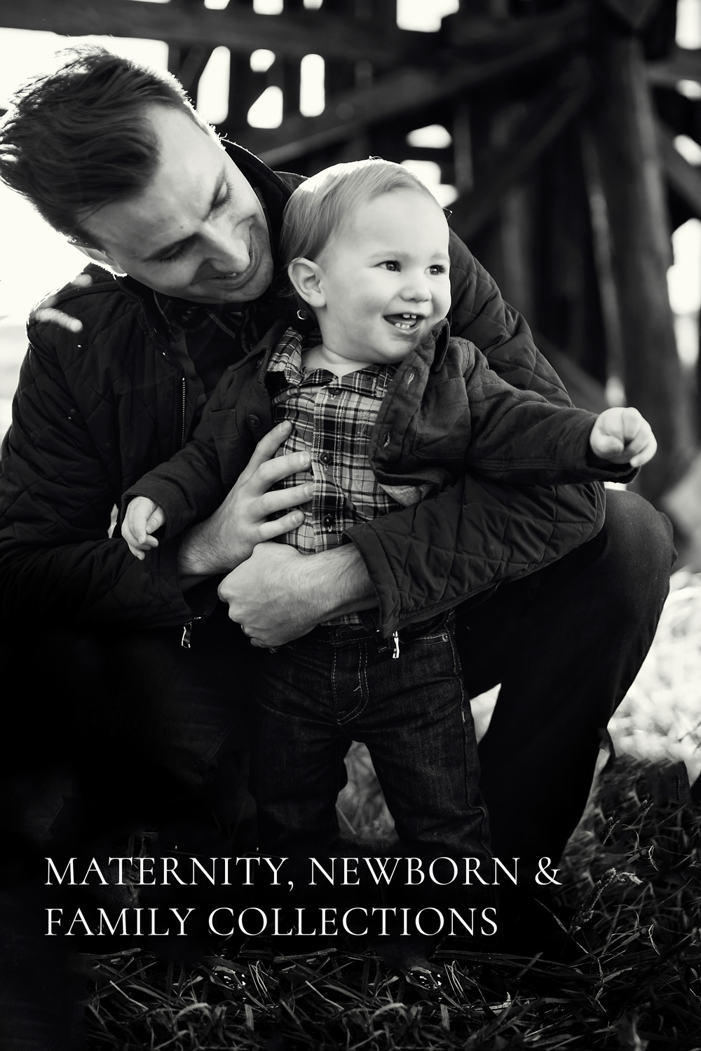 Father and Son, St. Albert Family Photographer