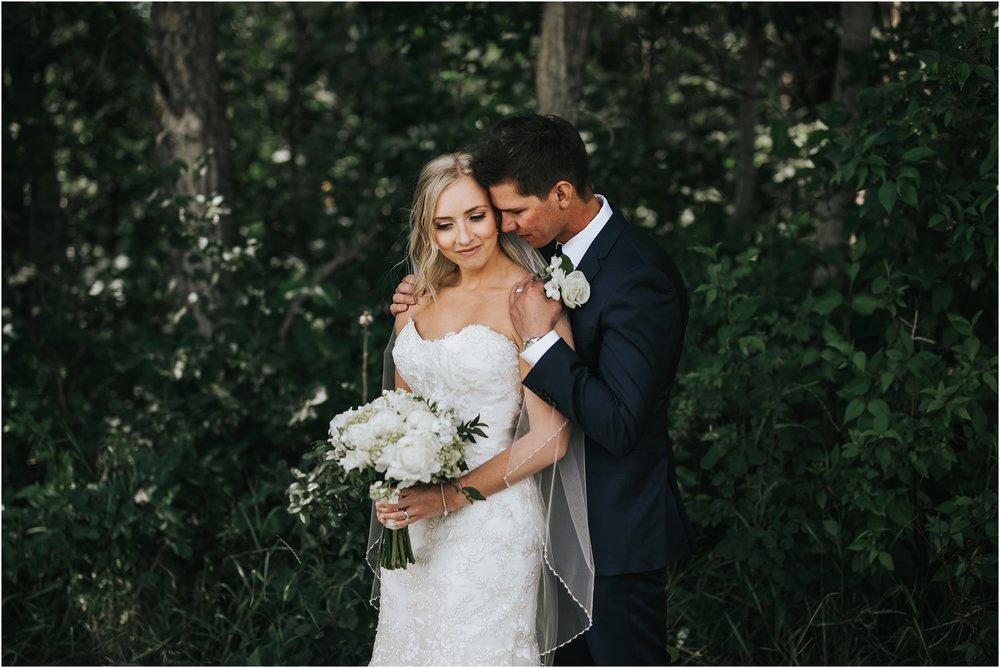 Alberta Bride and Groom
