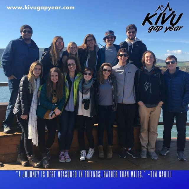 On the Sea of Galilee.  Friends are sure to be found.  #kivugapyear #kivu #gapyear #education #university #experientialeducation #travelyear