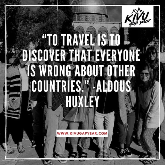 Want to figure out why we think the way we do about other countries?  Come join us to talk to them.  #kivugapyear #kivu #gapyear #education #university #experientialeducation #travelyear