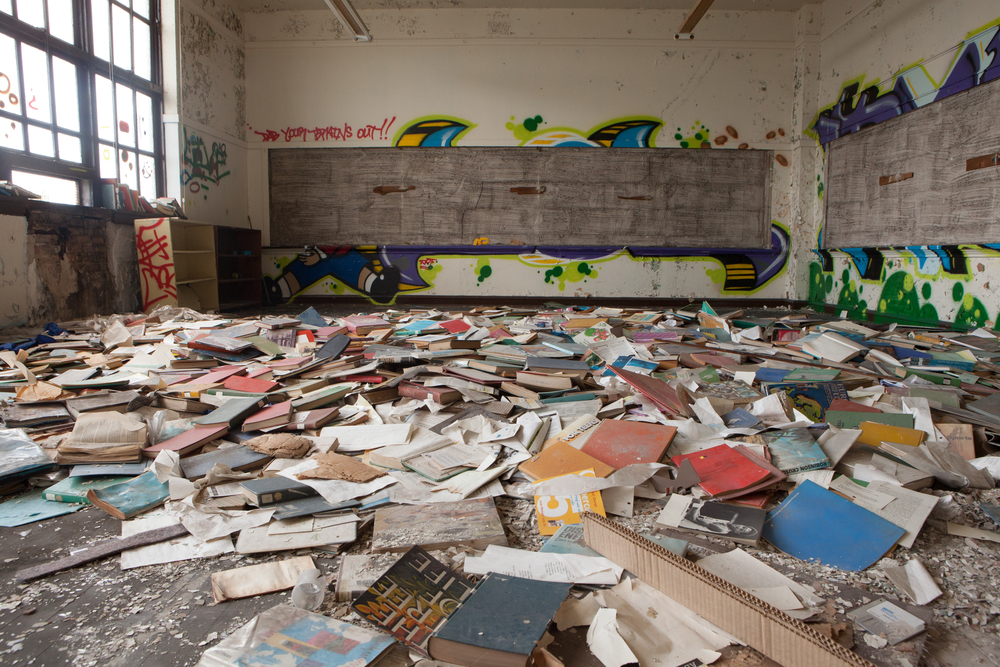 Inside the now abandoned St. Laurence. Photo: Place Lab.