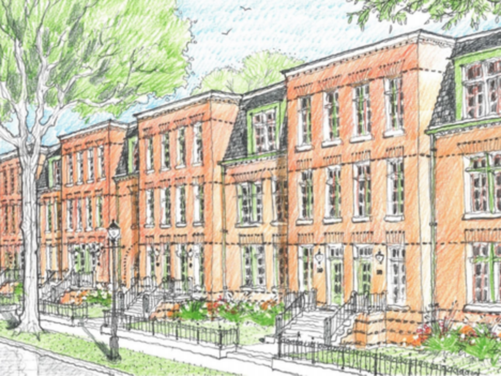 Artists rendering of the Pullman Artspace. Image courtesy of Chicago Neighborhood Initiatives.