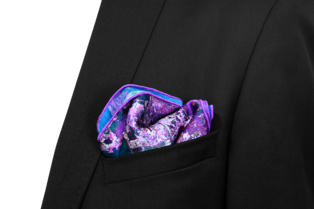 Hong Kong Pocket Square