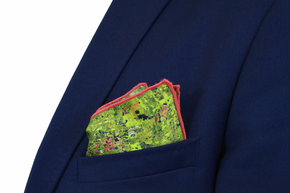 Chicago Pocket Square