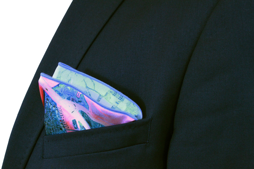 Miami Pocket Square