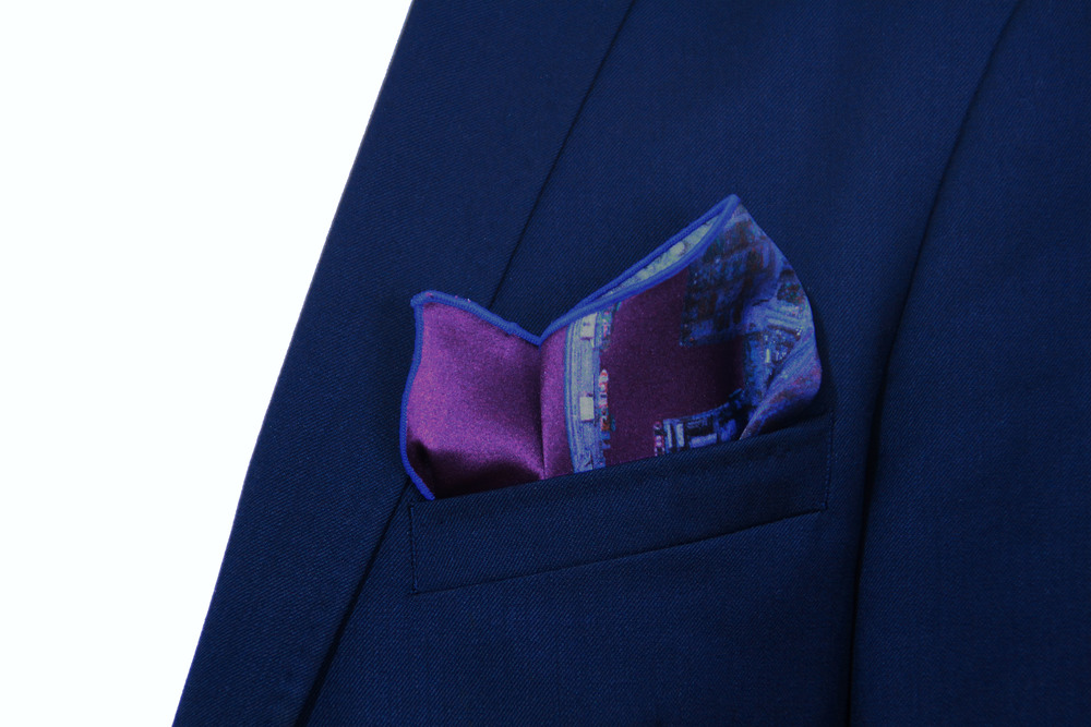 Barcelona Pocket Square