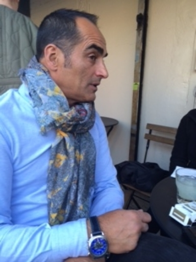 Navid Negahban in the Berlin Scarf