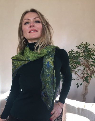 Paris scarf in Geneva