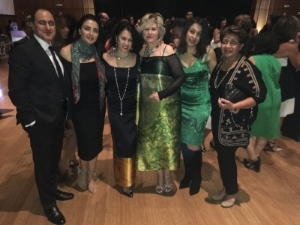 Cityzen fans at Omid Foundation Fundraising Gala