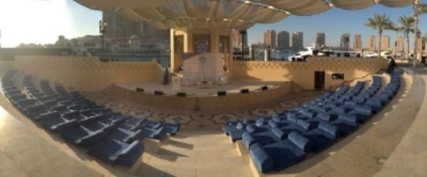 Pearl Amphitheatre, Doha, Cityzen By Azin presentation
