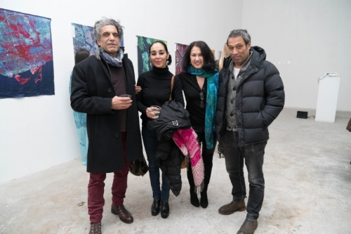 With Shirin Neshat, Shoja Azari and Nader Kayoud