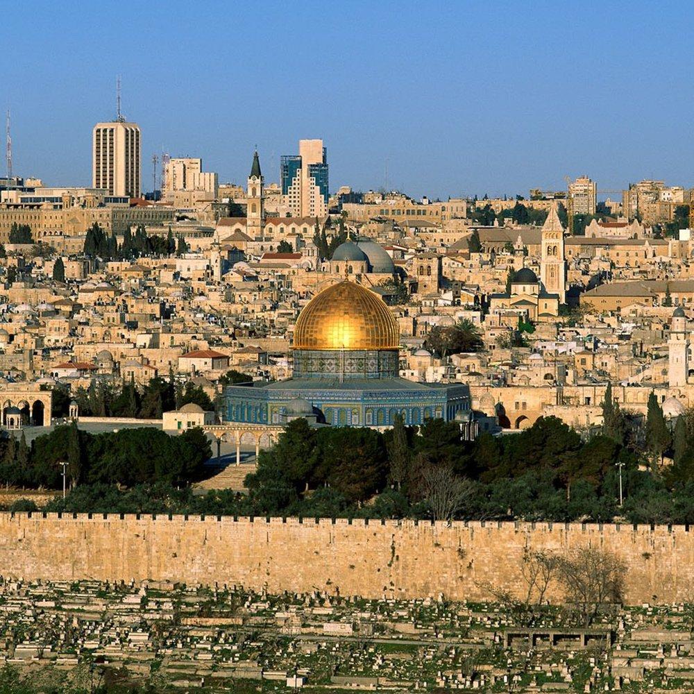 Gaza & Jerusalem -