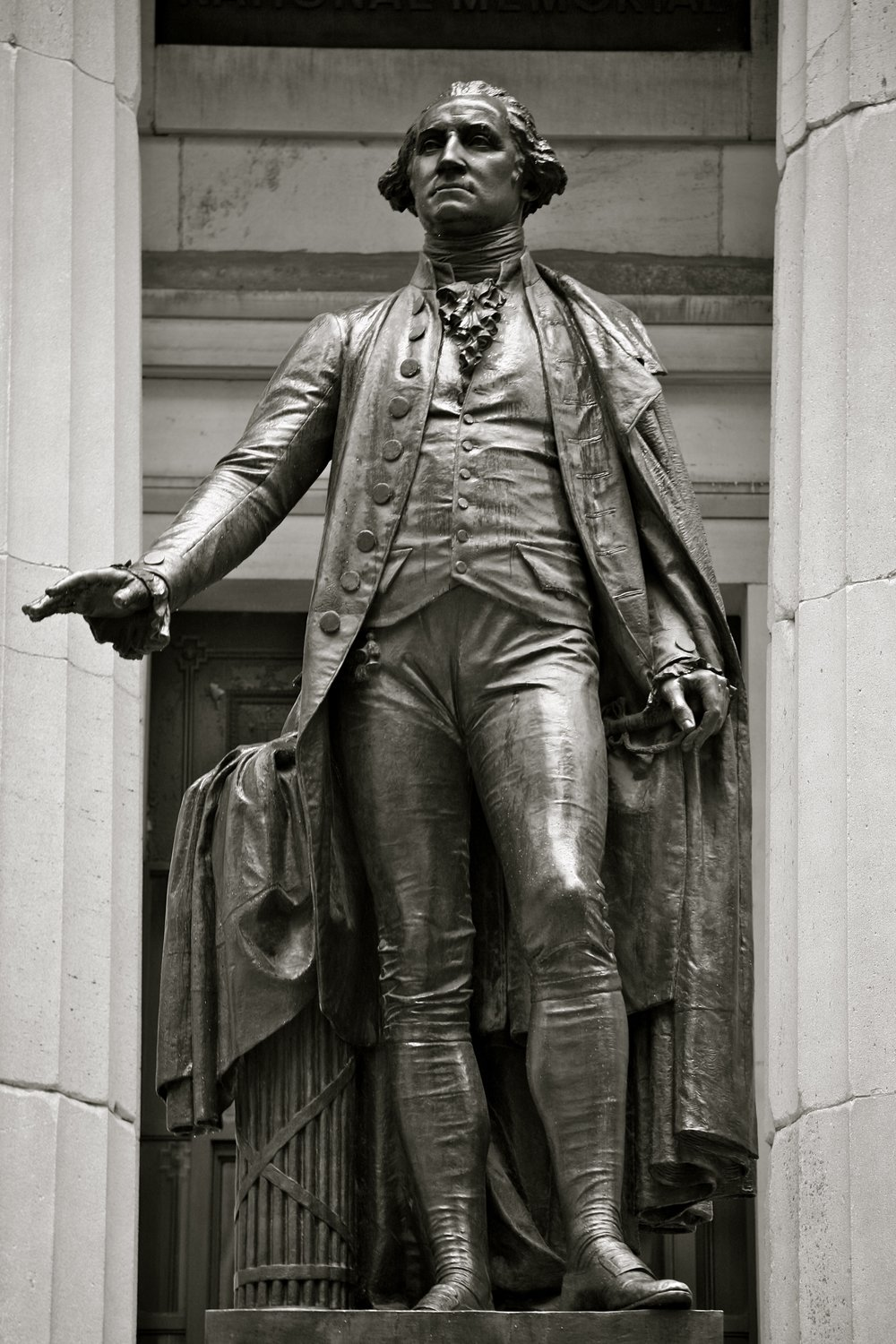 The George Washington Statue at Federal Hall