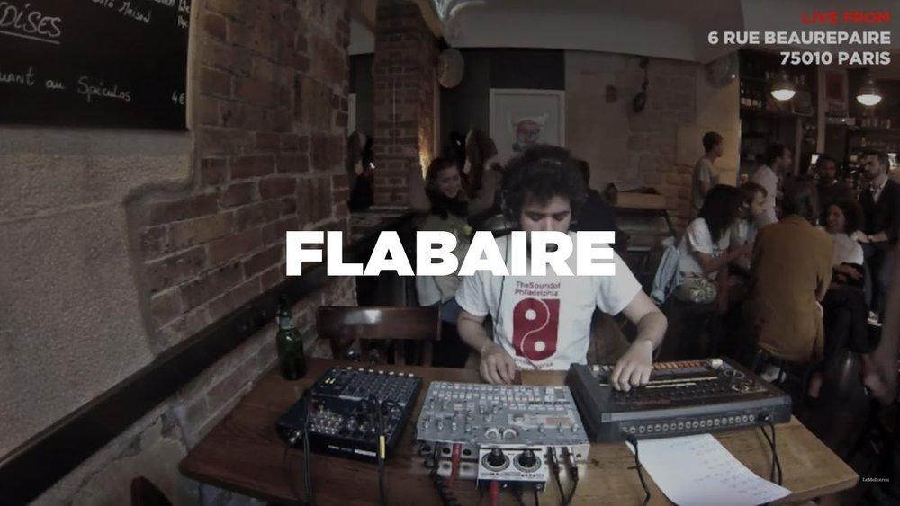 Flabaire en Live