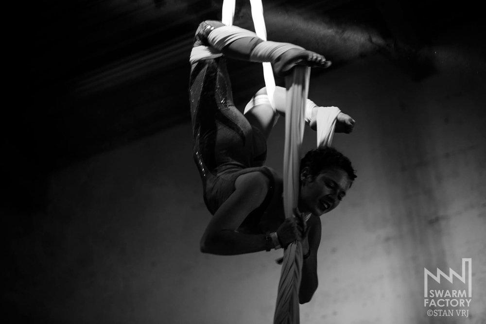 ;La danseuse aérienne