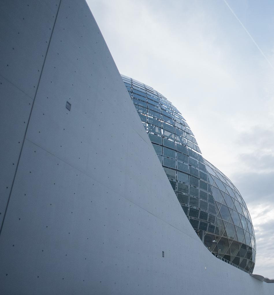Le festival se déroulait sur un site avec une architecture magnifique : La Seine Musicale.