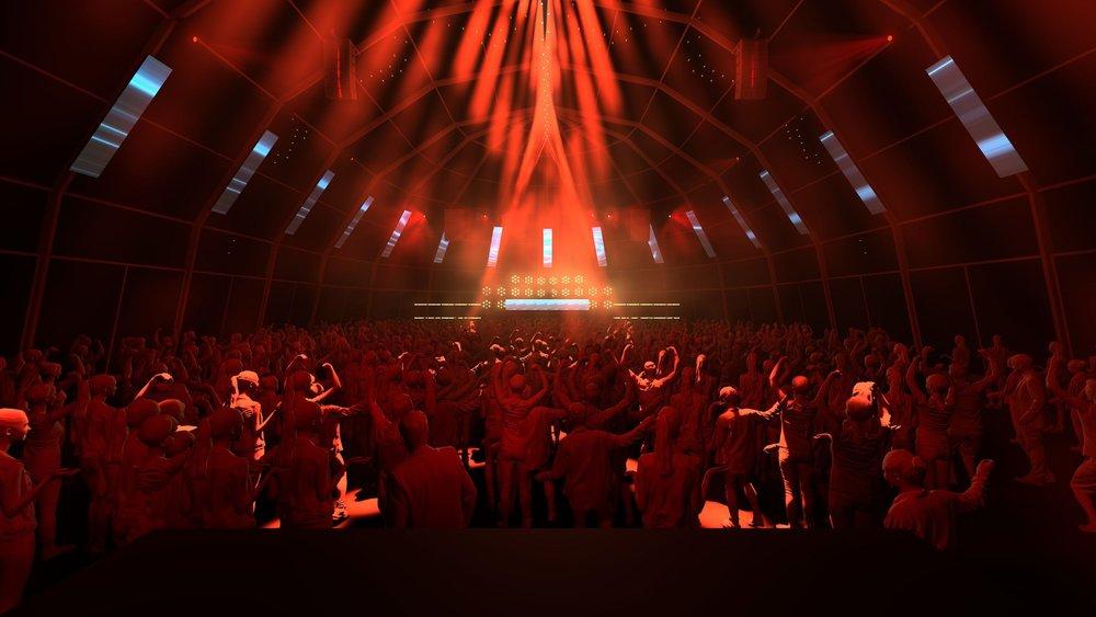 Rendu 3D de la nouvelle digital Stage