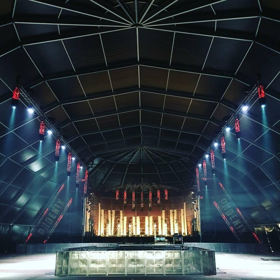 La Digital Stage a désormais un système de lumières à 360°